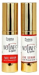 NoLines Organic Anti-aging Duo System for Face and Eyes with Resveratrol, Beech Tree, Natural Peptides.