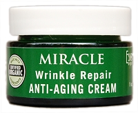 Miracle Wrinkle Repair Anti Aging Cream with DMAE, MSM, Collagen, Vitamins E and A.