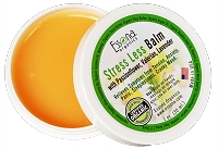 Stress Less Balm with Passionflower, Valerian, Lavender.