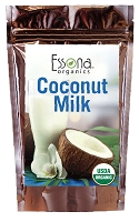 USDA Certified Organic Coconut Milk Powder - Pure,  Raw, Vegan