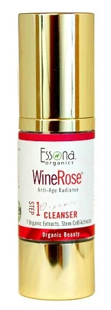 WineRose Organic Anti-Aging Cleanser with 7 Organic Extracts, Stem Cell Activator.
