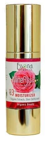 WineRose Anti-Aging Moisturizer with Natural Peptides, Stem Cell Activator,  Organic Extracts.