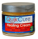 QuikCure Natural Healing Cream with Colloidal Silver, Zinc.   Stop Itching! start healing!