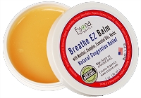 Breathe EZ Balm with Menthol, Camphor, Essential Oils, Herbs for Nasal Congestion, Sinus Relief.