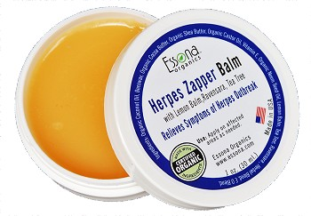 Herpes Zapper with Lemon Balm, Ravensara, Tea Tree Oil.