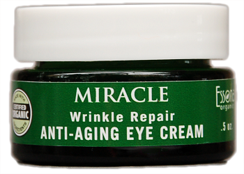 Miracle Wrinkle Repair Anti Aging Eye Cream w/Hyaluronic Acid, Natural Peptides, Moringa, Vitamins E, A, Arnica.